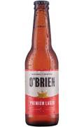 O Brien Premium Lager Gluten Free .330ml