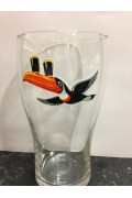 Glass Guinness Toucan Flying Icon