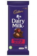 Cadbury Fruit and Nut 135g